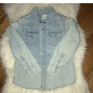PEEK Girls Kids 100% Cotton Long Sleeve Shirt
